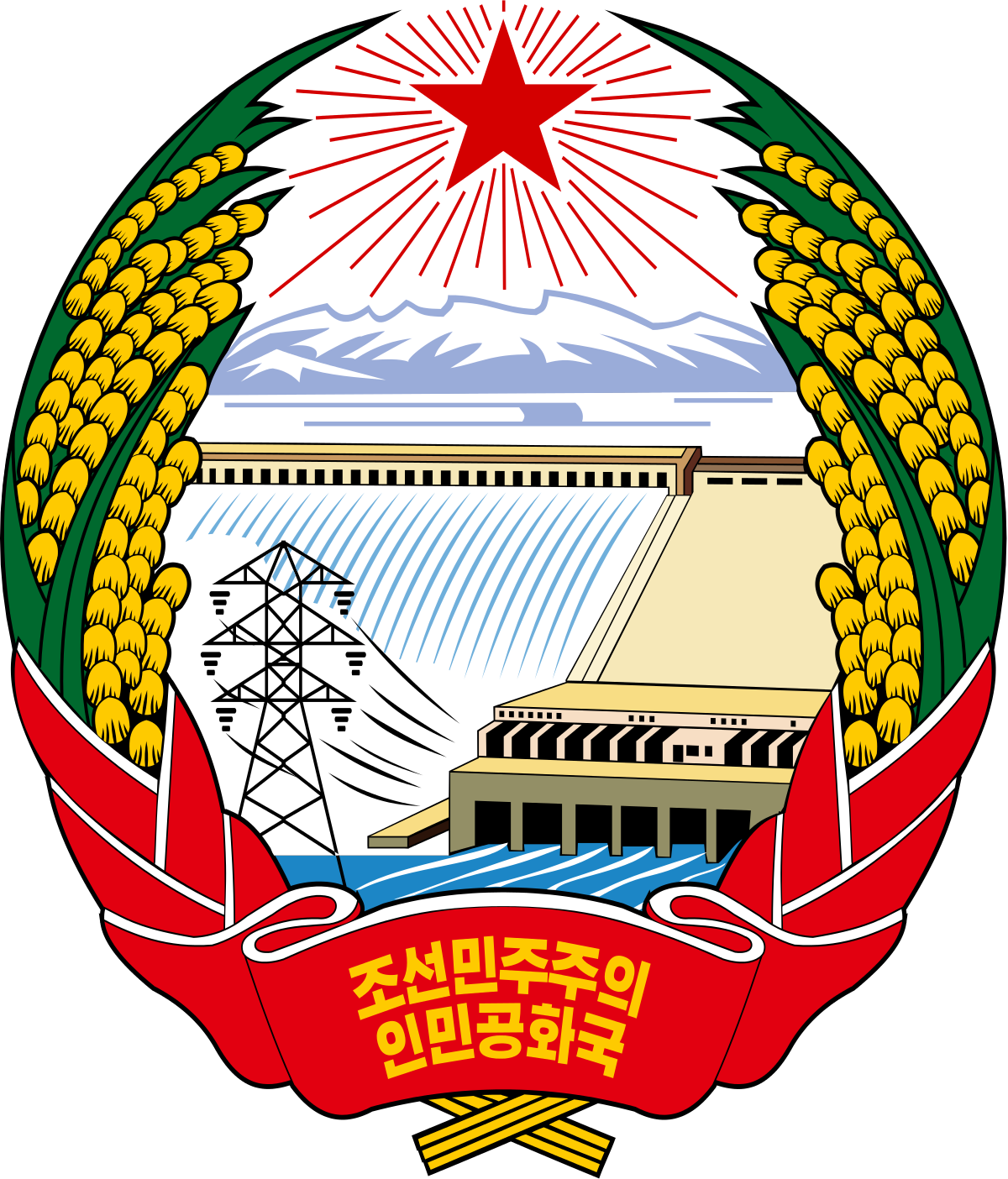 The Emblem of North Korea