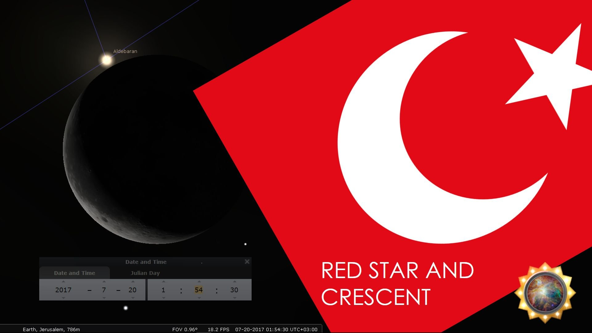 Red Star and Crescent