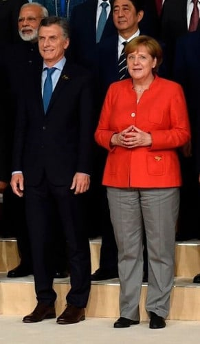 Merkel as Satan's Chief of Staff