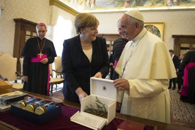 Francis honors his best pupil