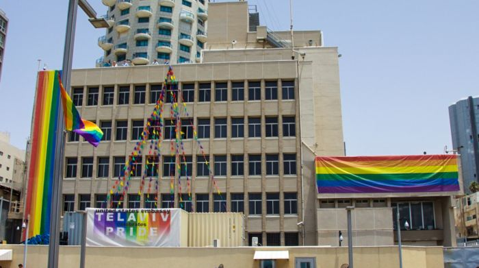 The US Embassy in Tel Aviv, Supporting the LGBT Movement