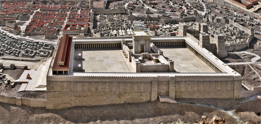 The temple in Jerusalem is supposedly to be rebuilt.