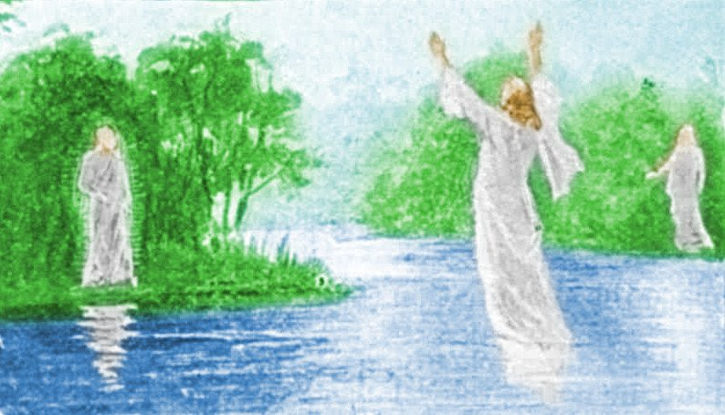 The Oath of the Man above the river