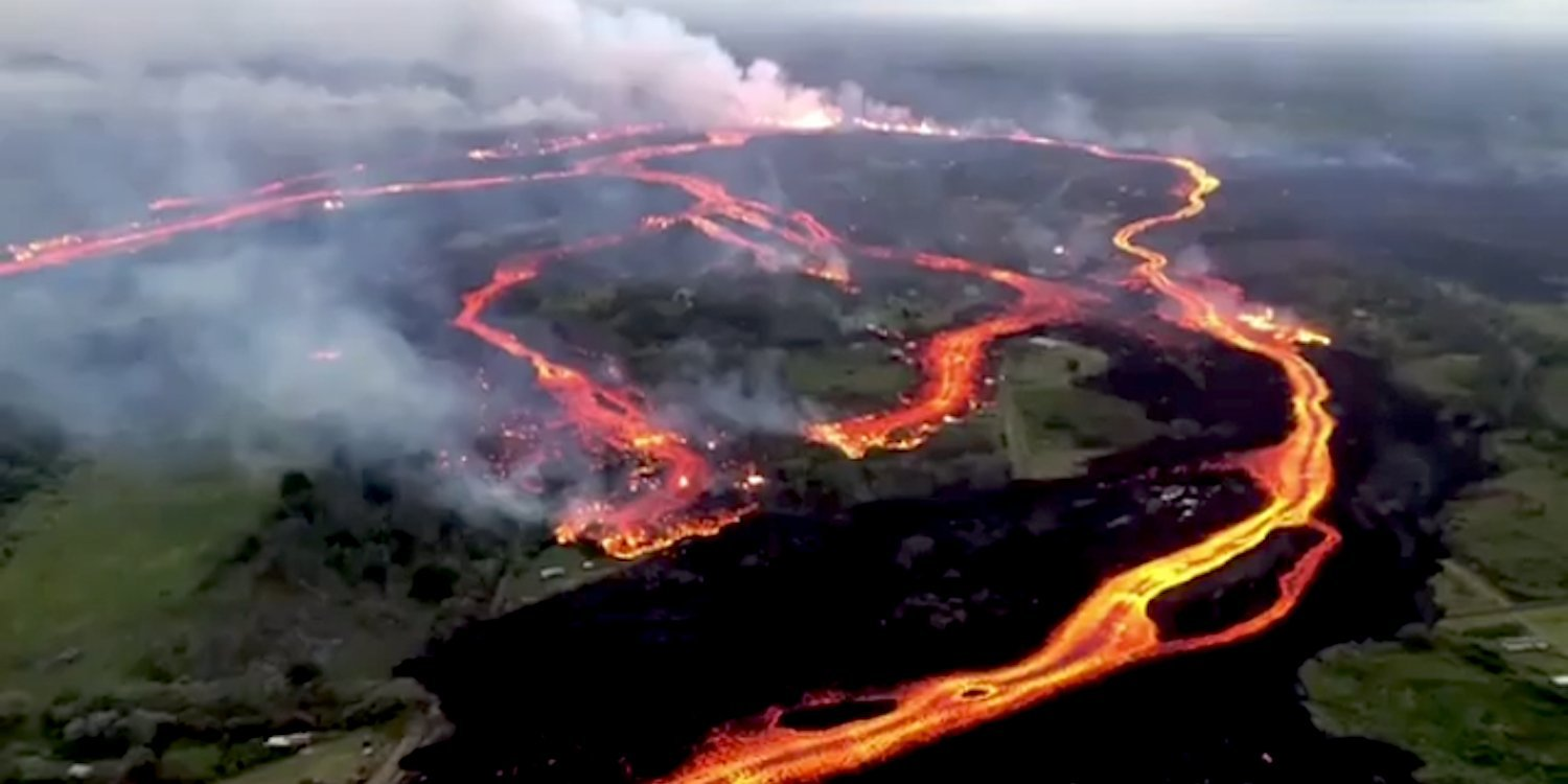 The snake tails of Kilauea