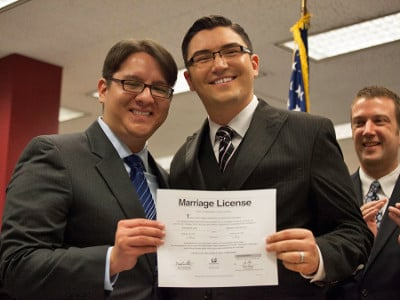 Marriage License in Hand