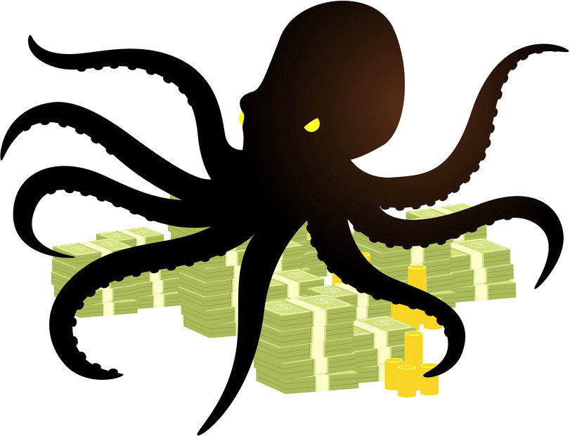 The money octopus