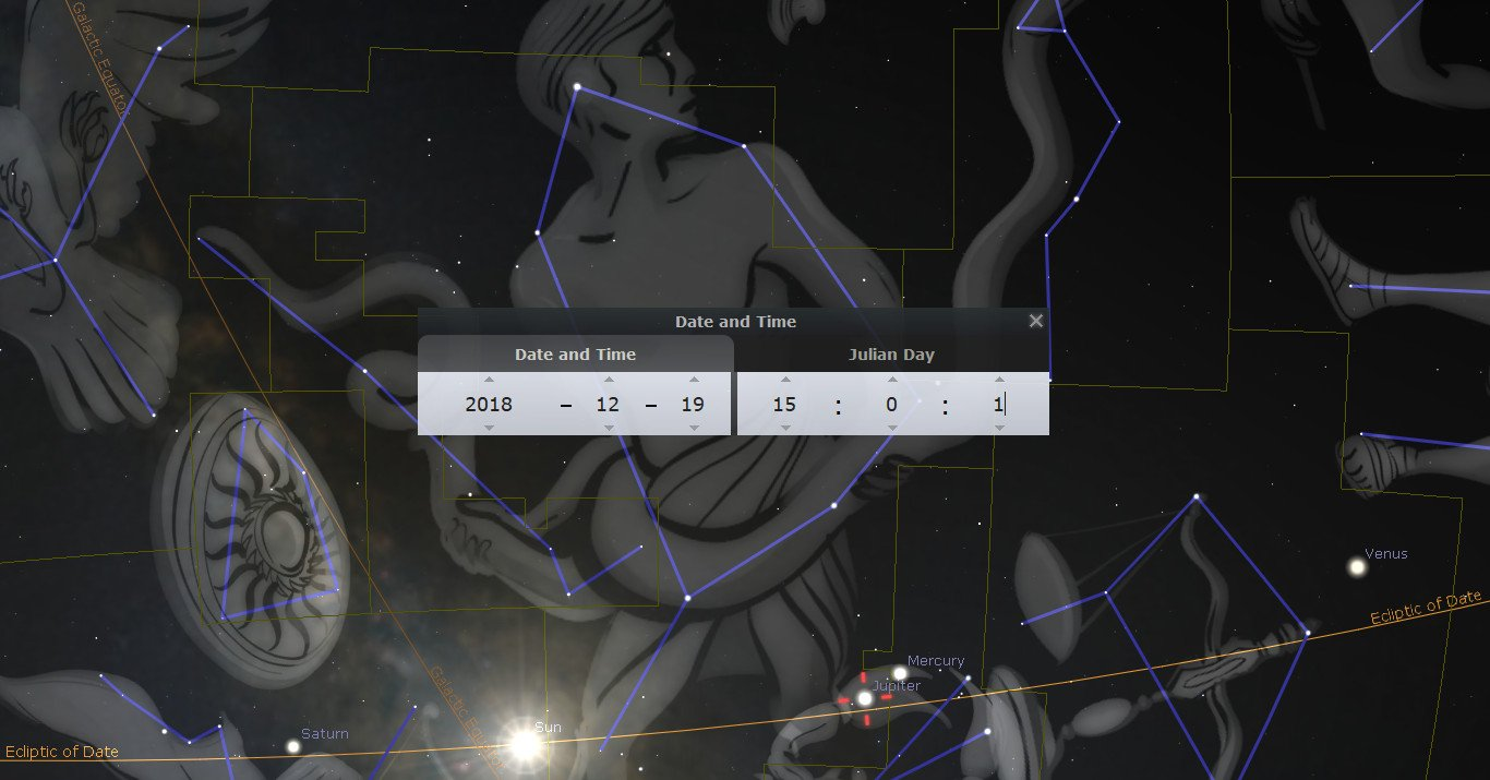 Jupiter judges Ophiuchus