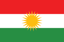 Hypothetical flag of hypothetical Kurdistan