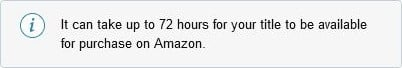 Amazon's 72-hour notice