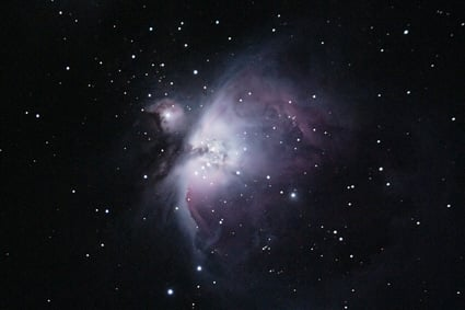 The White Cloud - the Orion Nebula