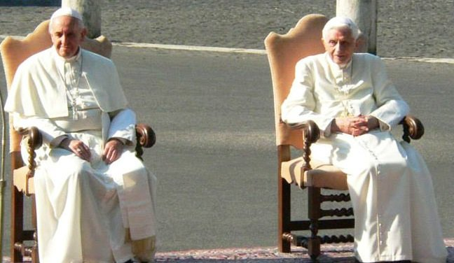 Two popes rule in the last days
